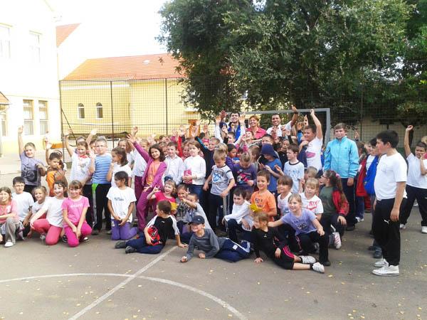 Szarvas - Evangélikus iskola csoportkép