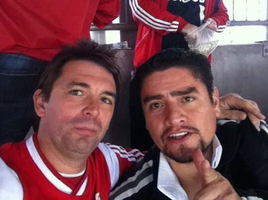 Bobó és Salvador a Diósgyőr meccsen